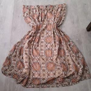 Nwot Ava&Viv mandala print skirt